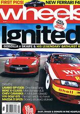 Wheels May 09 Civic Type R Golf GTI R35 GTR SS Ute XR8 Ute Camaro Mazda 3 M3