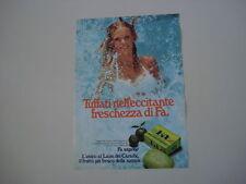 advertising Pubblicità 1975 SAPONE FA