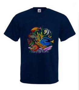 Tropical Fish T-Shirt Marine Aquarium in any size