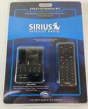 Sirius Satellite Radio STILETTO VEHICLE KIT/DOCK Model SLV1 New and Sealed