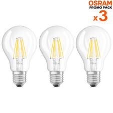 Osram LED Base Classic A60 Filamento E27 6 5 60w 806lm Neutrale Bianco 4000k a
