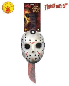 Jason Mask and Machette Set Relive the nightmare of Friday the 13th