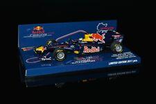 413110271 Minichamps S. Vettel RedBull RB7 Showcar Nürburgring 2011 1.43 (Nuevo)