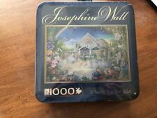 "NIB NEW JOSEPHINE WALL ""ENCHANTED MANOR"" 1000 piece Jigsaw Puzzle Collector Tin"