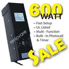 600W outdoor low voltage yard landscape garden lighting transformer LED watt