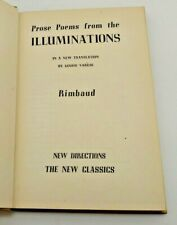 Rimbaud's Illuminations - 1946 Hardcover - Louise Varese, Trans., New Directions