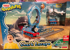 New In Box Thomas & Friends Adventures Shark Escape Playset Trains Racetrack