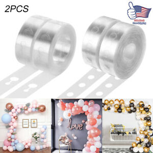 2PCS Balloon Arch Frame Kit Column Water Base Stand Wedding Birthday Party Decor