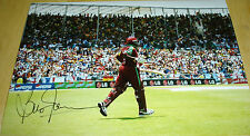 BRIAN LARA WEST INDIES CRICKET AUTOGRAPH HAND SIGNED PHOTO
