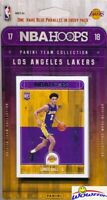 2017/18 Panini Hoops NBA Los Angeles Lakers Team Set -Lonzo Ball, Kyle Kuzma RC