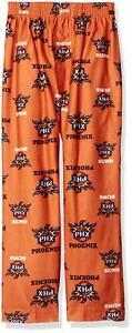 NBA Phoenix Suns Boys Sleepwear All Over Print Pants, Orange, Size Medium (5-6)