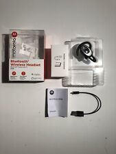 Motorola Bluetooth Wireless Headset H725 Voice assistant compatible D3