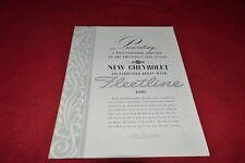 Chevrolet 1941 Fleeline Dealer's Brochure RPMD