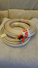 QED Qudos (LFI) bi-wire speaker cables, 2x5.6m, banana 4mm plugs @ speaker end