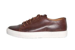 NEU | ACC | Handgefertigt | ital. Sneaker | Echtleder | dunkelbraun | 3570