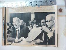 Vintage Wire Press Photo-George Shultz(Sec State)Visit To Manila 1/24/1986
