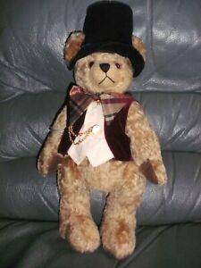 """Hermann Spielwaren MEISTER JACOB 11"""" mohair limited edition 59 of 100"""