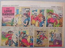Lone Ranger Sunday Page by Fran Striker and Charles Flanders from 12/21/1941