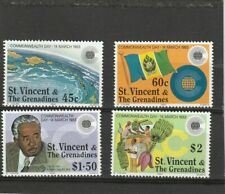 Grenadines of St Vincent 1983 Commonwealth Day Set MNH