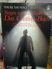 Schott Verlag Singen w Superstars Over the rainbow Casting Buch Texte Playbacks