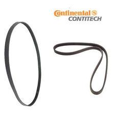 BMW Belts: Alternator-Water Pump-Power Steering Belt + A/C Belt OEM Contitech
