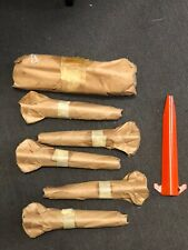 Vietnam Original Issue Pup Tent Shelter Half Stakes Pegs Nos Wrapped Orange Army