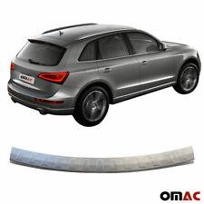 Ladekantenschutz für Audi Q5 2008-2016 Chrom Edelstahl Gebürstet Abkantung