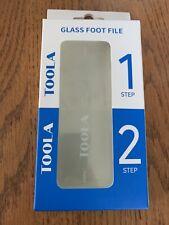 Callus Remover Pedicure Toola Glass Foot File (video of features in description)