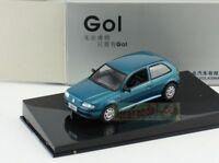 1:43 Scale Volkswagen VW GOL blue Diecast Model