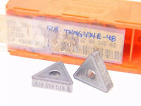 NEW SURPLUS 10PCS. CARBOLOY  TNMG 434E48  GRADE: 518  CARBIDE INSERTS
