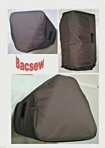 (2)PADDED COVERS TO FIT YAMAHA DXR12 / DXR15 /DZR SPEAKER -S/O +ZIP BASE BACSEW