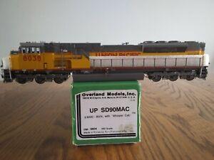 Overland Models UP SD90MAC #8038 blt 9/96