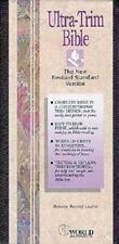 NRSV Ultra-Trim Bible (Burgundy Bonded Leather),