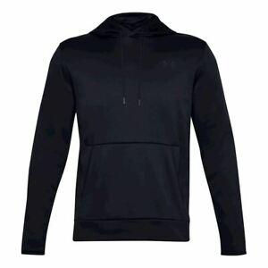 Under Armour Men's Fleece HD Sweatshirt Hoodie - Black