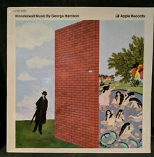 George Harrison Wonderwall Music Apple SAPX 340850 Original French Pressing