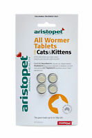 Aristopet All Wormer for Cats&Kittens 4pk - Cat Worming Tablets - Allwormer