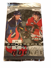 2007-08 UD Fleer Hot Prospects Hockey Factory Sealed BOOSTER Pack |1 PACK | RARE