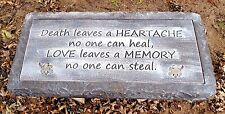 "gostatue memorial religious 3/16th"" plastic bench top concrete mold mould"
