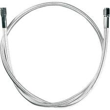 Magnum - 5512 - Polished Stainless Braided Universal Brake Line, 12in. L