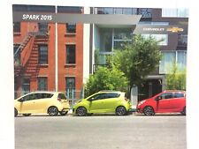 2015 Chevrolet Spark Dealership Brochure Chevy GM
