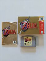 Legend of Zelda: Ocarina of Time (N64) Complete CIB - Great Condition!