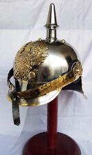 GERMAN FR Prussian Helmet, German Pickelhaube Helmet WWI Helmet, WWII Helmet