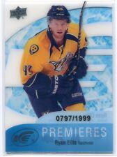 2011-12 Upper Deck Ice 55 Ryan Ellis Rookie 797/1999
