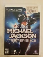 Michael Jackson: The Experience (Nintendo Wii, 2010) COMPLETE TESTED FREE S/H