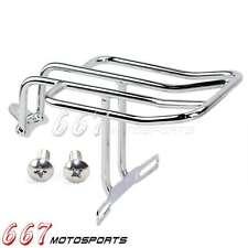Motorcycle Rear Rack Luggage For Sportster 1200 Custom XLH1200C 1996–2003 Chrome