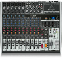 Behringer Xenyx X1832USB 18-Input USB Audio Effects Mic Preamps Mixer Interface