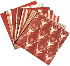 Holiday Red - 6x6 Recollections Sleigh Bells Ring Scrapbooking Paper Pack
