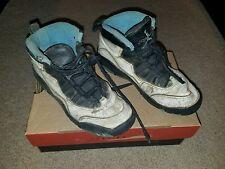 Vtg 1994 Nike Air Jordan 10 X OG WHITE BLACK CAROLINA BLUE  US SZ 3y