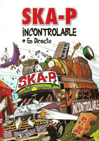 DVD CD Ska-P ‎– Incontrolable En Directo SPAIN 2003