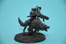 Warhammer 40k Space Wolves Iron Priest on Thunderwolf Lot2